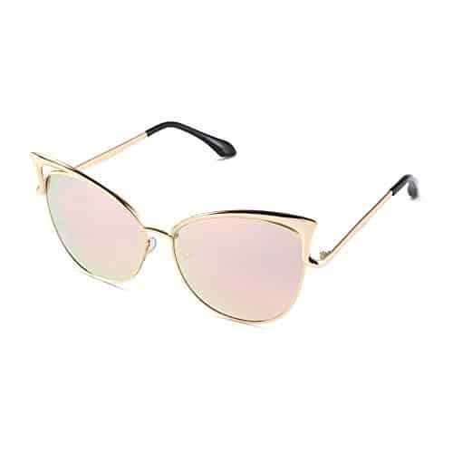 Sunny&Love Women Oversized Cat Eye Sunglasses